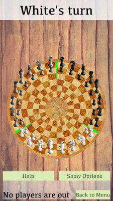 Default Board - 3 Man Chess on IOS