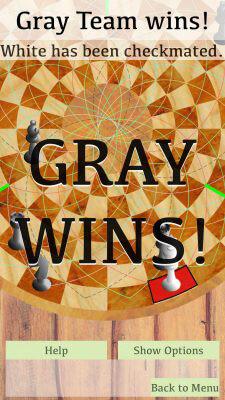 Player 3 Wins - 3 Man Chess on IOS