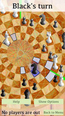 Knight Movement - 3 Man Chess on IOS
