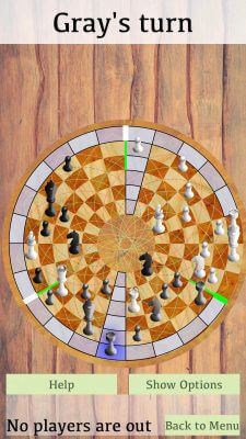 Rook Movement - 3 Man Chess on IOS
